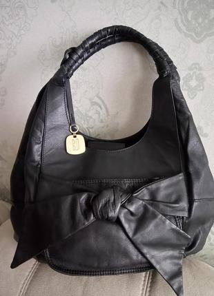 Роскошная большая сумка betty jackson black
