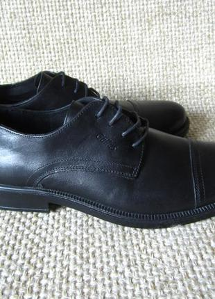 Розпродаж !!! туфли чорные кожанные gallus размер 43