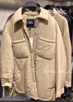 Рубашка -куртка zara , нова