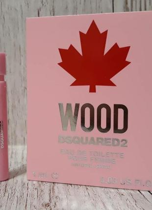 Wood dsquared2 пробник 1 мл