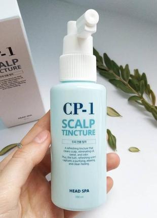 Освежающий спрей для кожи головы esthetic house cp-1 head spa scalp tincture