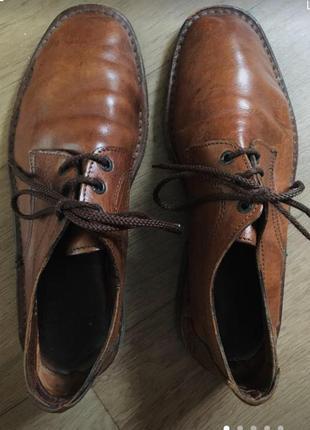 Крутые кожаные туфли 👞