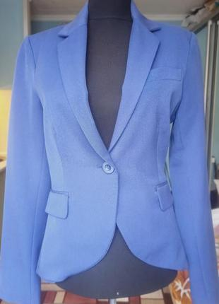 Синий пиджак 36 р