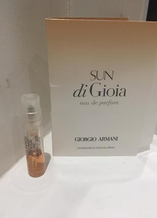 Giorgio armani sun di gioia - парфюмированная вода (пробник) (1.2ml)