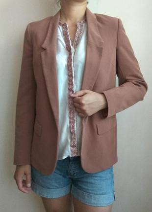 Блейзер пиджак жакет цвет капучино