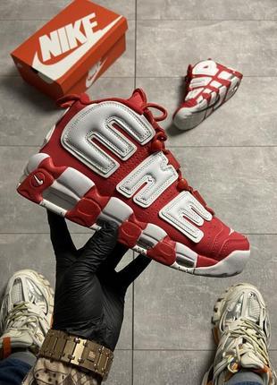 Nike air more uptempo red (красный) 36-37-38-39-41-42-43-44-45