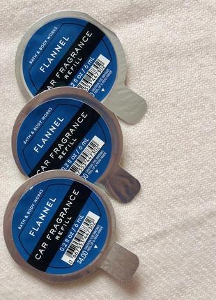 Сменный блок ароматизатор (пахучка) в авто / дом flannel от bath and body works