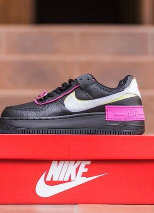 Nike air force 1 shadow removable  🍏 стильные женские кроссовки найк форси
