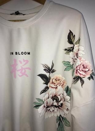 Свитшот цветы 💐 tally weijl