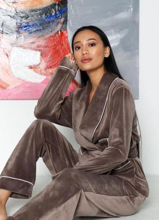 Велюровая пижама ❤️