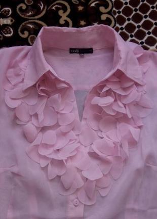 Шифоновая летняя блуза