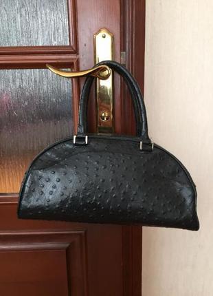 Кожаная сумка neri оригинал италия