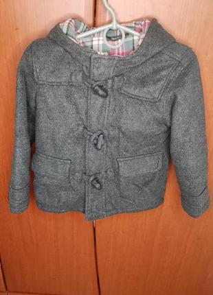 Кашемірове пальто для хлопчика фірми george