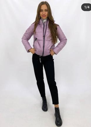 Стильная куртка с капюшоном, осенняя куртка
