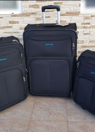 Самый легкий чемодан для ручной клади madisson 85103 .53х36х20 см