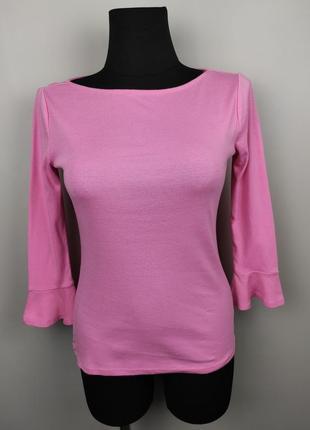Джемпер пуловер розовый стильный ralph lauren xs