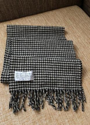 Шерстяной шарф/ итальянский шарф