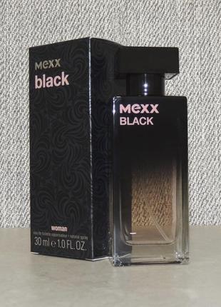Mexx black woman 30 мл для женщин оригинал