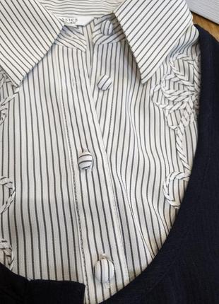 Костюм тройка: блузка, жилетка, юбка миди.5 фото