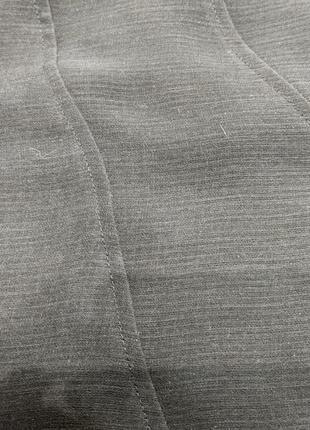 Костюм тройка: блузка, жилетка, юбка миди.10 фото