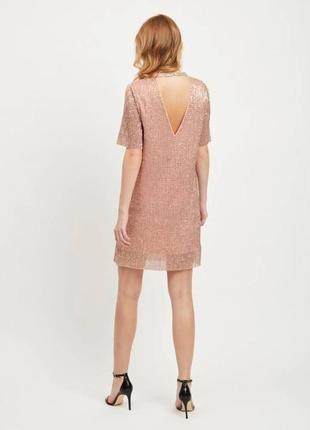 Новое платье в пайетки vila