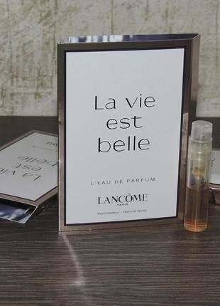 Lancome la vie est belle пробник для женщин оригинал