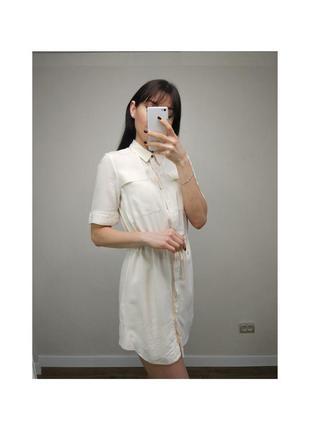 Кремова сукня topshop
