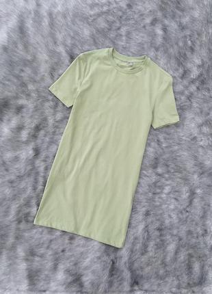Удлиненная коттоновая футболка asos