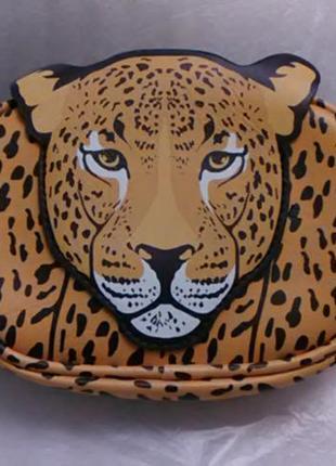 Поясные сумки леопардовые