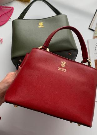 👜идеальная красная сумка италия кожа/кожаная красная сумка/сумка натуральная кожа италия👜
