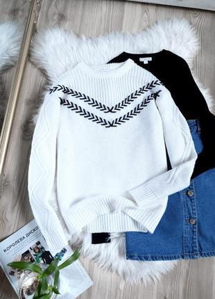 Классный, стильный свитер
