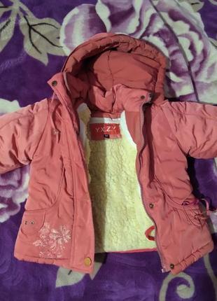 Детский зимний комбинезон с курткой, 1-3 года