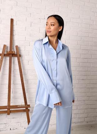 Пижамный костюм для дома и сна, пижама, піжама оверсайз крою