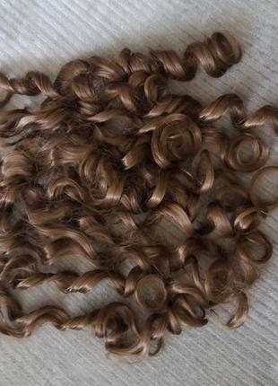Накладные волосы, волосы на трессах, термоволосы, накладне волосся, волосся на тресах