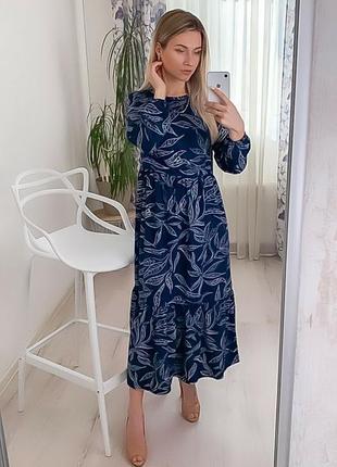 Женское летнее платье миди