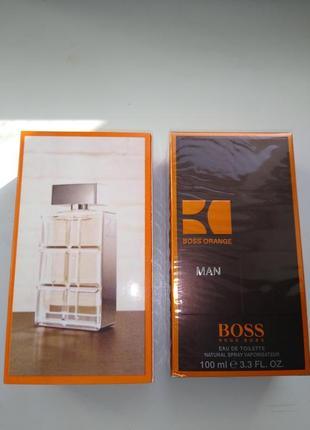 Мужская туалетная вода hugo boss boss orange for men 100 мл