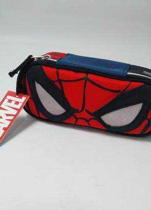 Школьный пенал для мальчика marvel spider-man спайдер мен