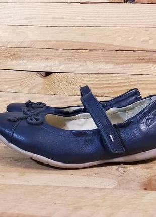 Clarks туфли натуральная кожа балетки