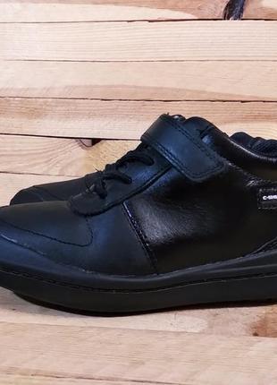 Clarks демисезонные ботинки натуральная кожа