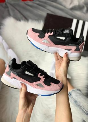 Женские кроссовки adidas falcon pink