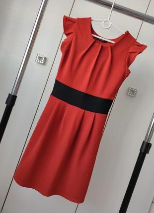 Стильное платье миди. boohoo.размер uk 8.