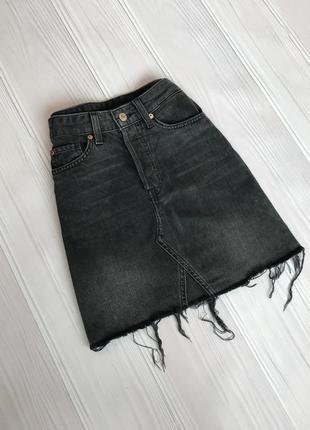 Актуальная джинсовая юбка