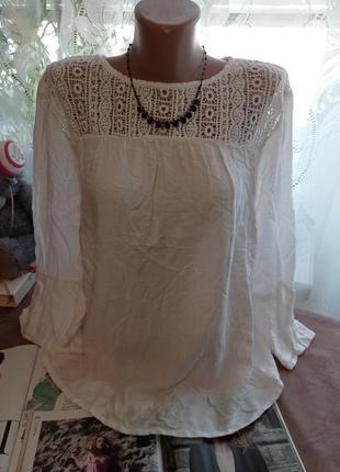 Блуза летняя uk12