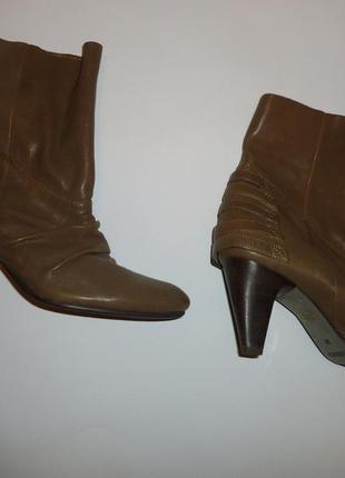 Натуральные кожаные ботильены ботинки поллу сапоги staccato китай гонконг