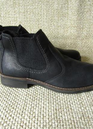 Розпродаж !!! черевики челсі демі шкіряні розмір 46