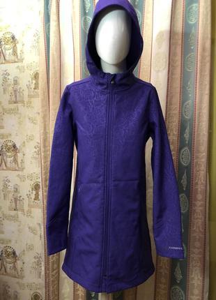 Яркая теплая удлиненная куртка американской фирмы спортивной одежды cloudveil