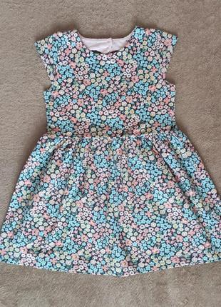Хлопковое платье carter's 3t