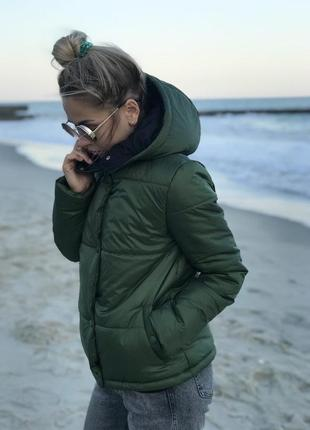Весенняя курточка хаки