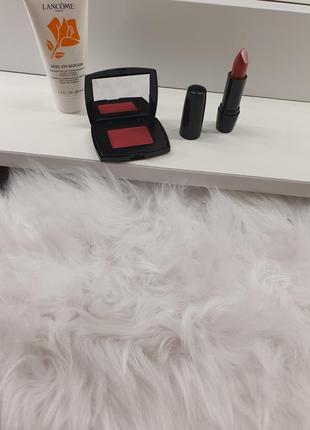 Набор косметики lancome! оригинал! кремовая помажа, румяна, пенка для снятия макияжа!