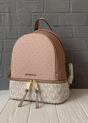 Женский городской рюкзак michael kors rhea с логотипом